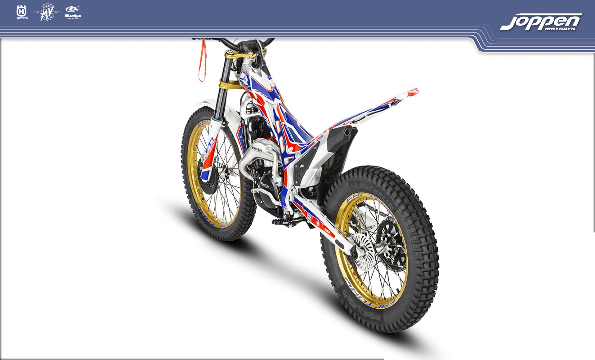 Beta EVO 250 2T Factory 2020 blauw/rood/wit - Off road