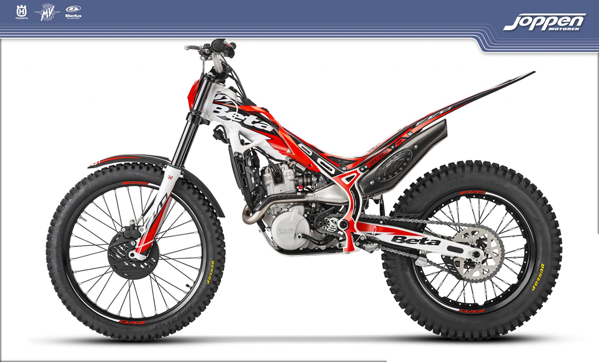 Beta EVO 300 4T 2020 rood/wit - Off road