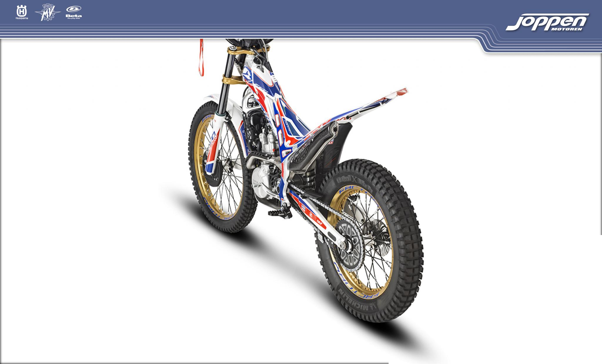 Beta EVO 300 4T Factory 2020 blauw/rood/wit - Off road
