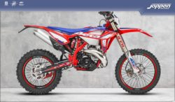 Beta RR250 2T Racing 2021 kl=blauw/rood - Off road