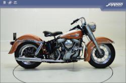 Harley-Davidson® FLHF Duo Glide 1963 bruin/creme - Custom