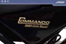 Norton Commando 961 Cafe Racer 2013 zwart - Naked