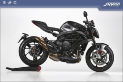 MV Agusta Brutale 800 RR 2021 carbon black metallic/avio grey metallic - Naked
