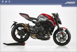 MV Agusta Brutale 800 RR 2021 shock pearl red/avio grey - Naked