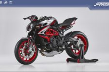 MV Agusta Dragster RR  RC SCS 2021 ago silver/glossy black/ago red - Naked
