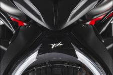 MV Agusta Brutale 800 RR 2021 shock pearl red/avio grey - Naked