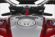 MV Agusta Brutale 800 RR SCS 2021 shock pearl red/avio grey - Naked