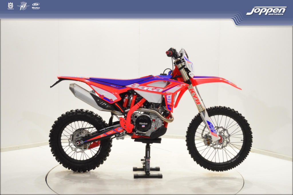 Beta RR390 Racing 4T 2021 rood/blauw/wit - Off road