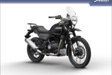 Royal Enfield Himalayan 2020 granite - All road