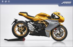 MV Agusta Superveloce 2021 pearl metallic yellow/matt metallic graphite - Supersport