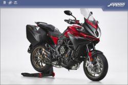 MV Agusta Turismo Veloce Lusso SCS 2021 fire red/matt metallic dark grey - Sport / Sport tour