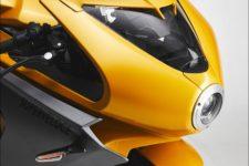 MV Agusta Superveloce 2021 pearl metallic yellow/matt metallic graphite - Supersport