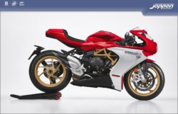 MV Agusta Superveloce 2021 ago red/ago silver - Supersport