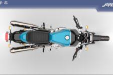 Royal Enfield Continental GT 650 2021 ventura storm blue - Classic