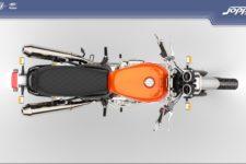 Royal Enfield Interceptor 650 2021 orange crush - Classic