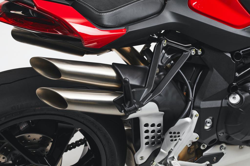 Brutale 1000 RS detail zijkant